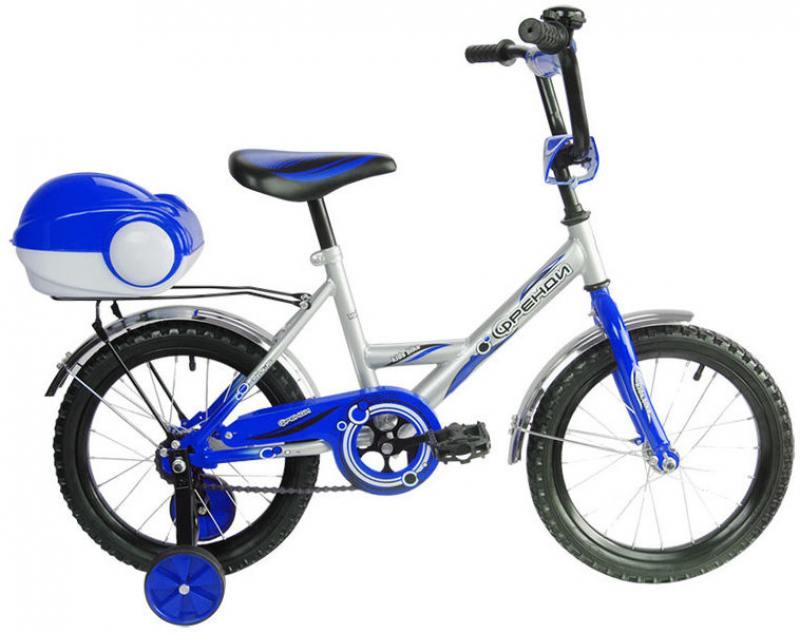 Велосипед двухколёсный RT Мультяшка Френди 1601 16 синий XB1601