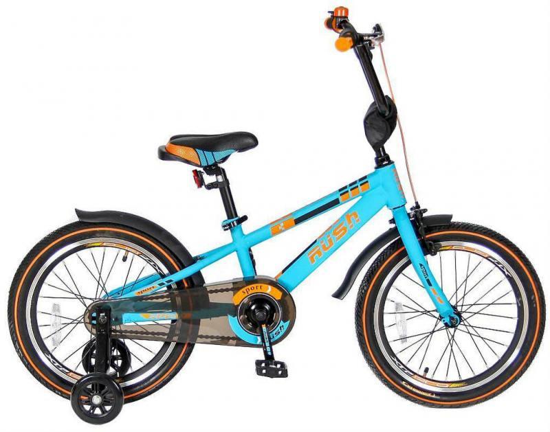 Велосипед двухколёсный Velolider RUSH SPORT 18 бирюзовый R18B velolider r18b 2 х колесный велосипед 18 rush sport бирюзовый
