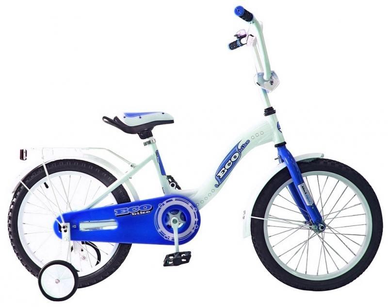 Велосипед двухколёсный Rich Toys Aluminium BA Ecobike голубой 5415/KG1621
