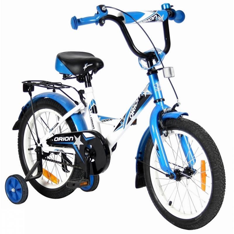 Велосипед двухколёсный Velolider LIDER ORION 16 VO16BS белый/синий самокат velolider lider juno 12 141135 12 киви двухколёсный