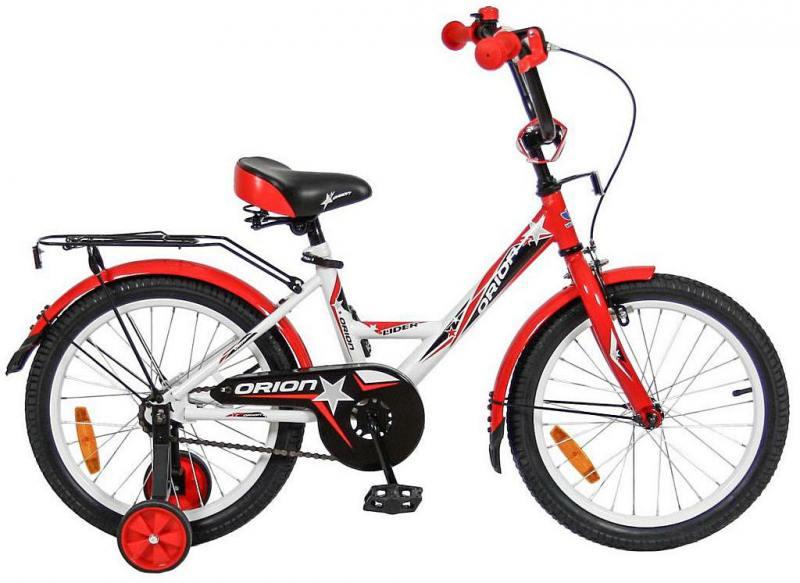 Велосипед двухколёсный Velolider LIDER ORION 18 VO18BK белый/красный велосипед velolider rush army 18 ra18 хаки