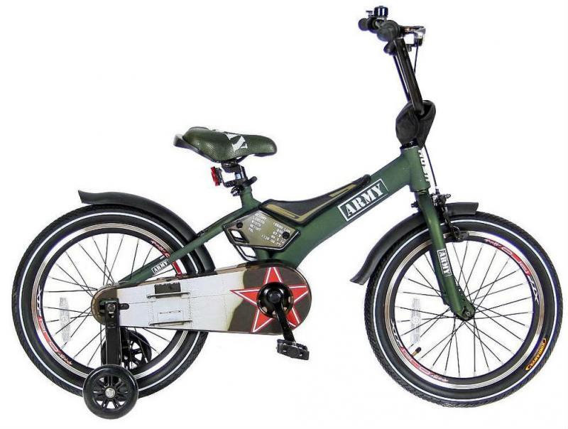 Велосипед двухколёсный Velolider RUSH ARMY 18 RA18 хаки велосипед двухколёсный velolider rush army 18 ra18 хаки