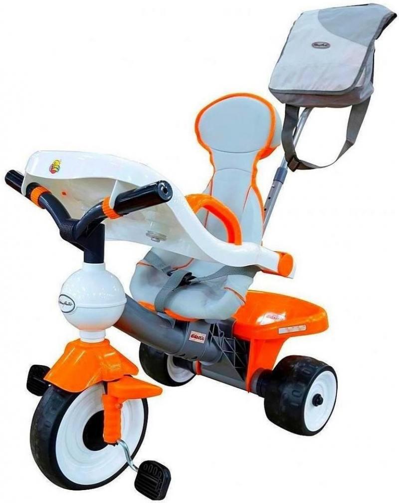 Велосипед трехколёсный Coloma Comfort Angel DI Orange с игровой панелью оранжевый 46581 каталки coloma скутер mig