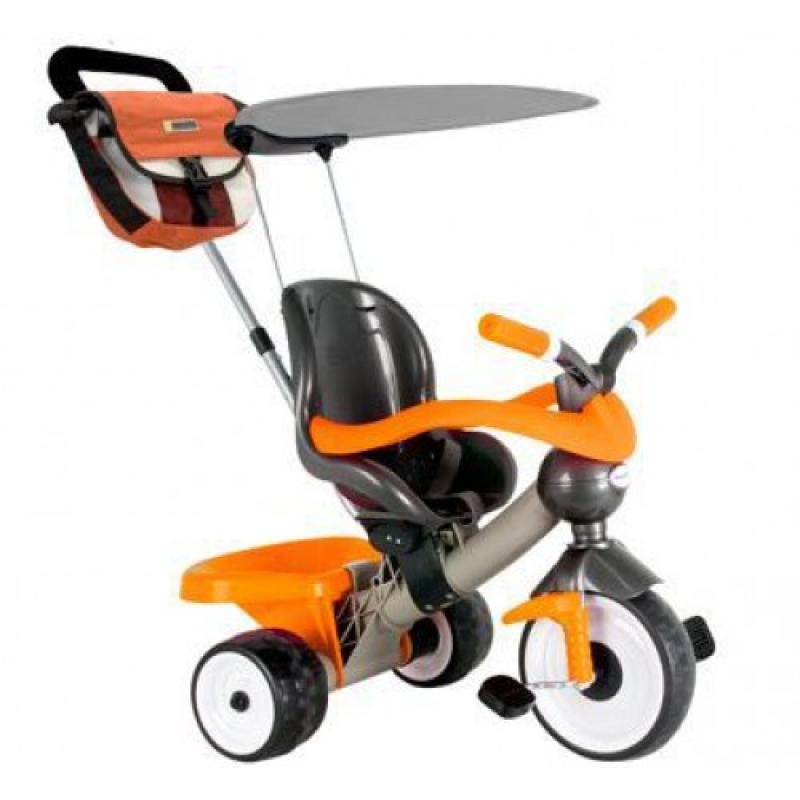 Велосипед трехколёсный Coloma Comfort Angel orange aluminium оранжевый 889 каталки coloma скутер mig