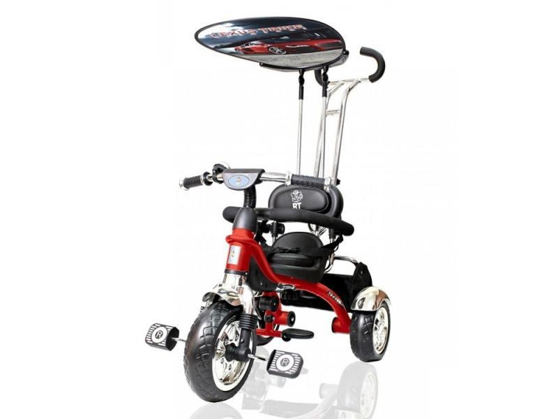 Велосипед трехколёсный Lexus Trike original RT Grand Print Deluxe New Design 2014 красный 2013-779