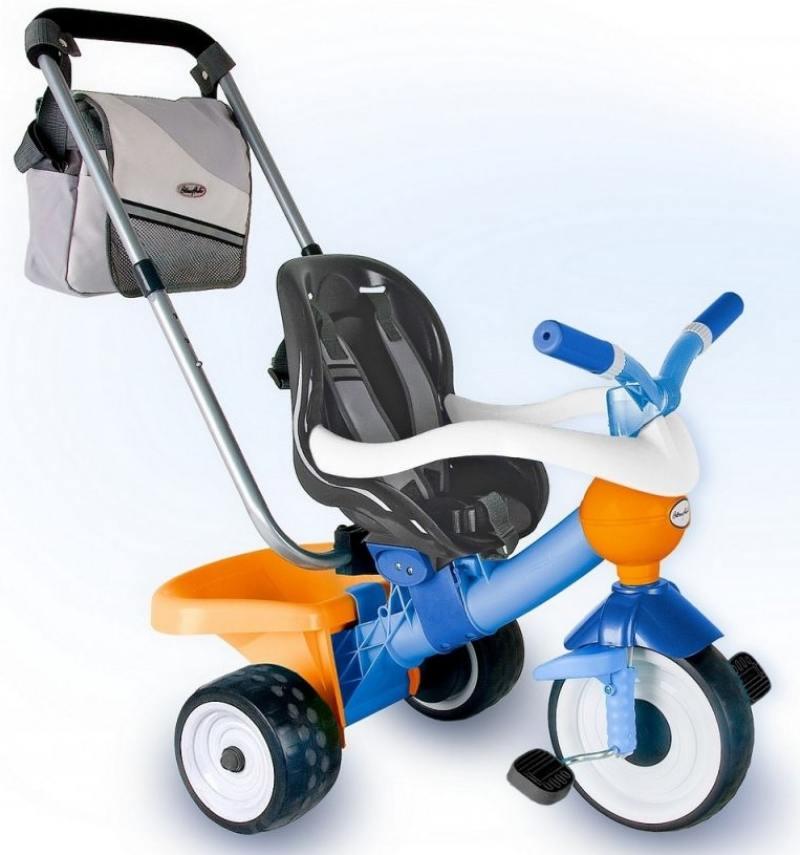 Велосипед трехколёсный Coloma Comfort ANGEL Blue/orange Aluminium голубой 891-14 велосипед coloma comfort angel di orange с игровой панелью оранжевый 46581