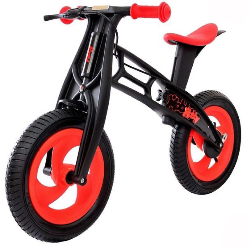Беговел двухколёсный Hobby Bike RT FLY А красный 5361