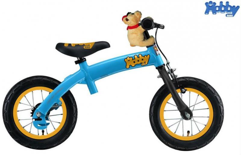 Велобалансир-велосипед двухколёсный Hobby Bike RToriginal ALU NEW 2016 синий