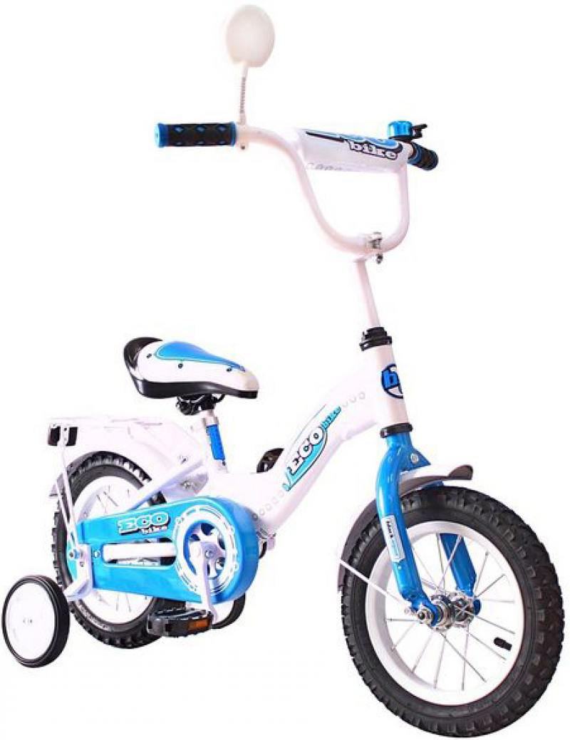 цена на Велосипед двухколёсный Rich Toys Aluminium BA Ecobike голубой 5412/KG1221