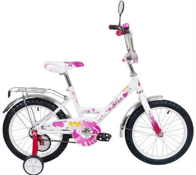Велосипед двухколёсный RT Black Aqua Фея 12 розовый ВА-1225
