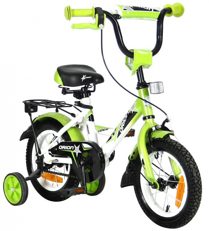 Велосипед двухколёсный Velolider LIDER ORION 12 VO12BZ белый/зеленый велосипед velolider rush army 18 ra18 хаки