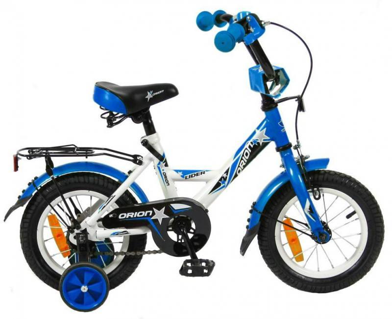 Велосипед двухколёсный Velolider LIDER ORION 12 VO12BS белый/синий велосипед velolider rush army 18 ra18 хаки