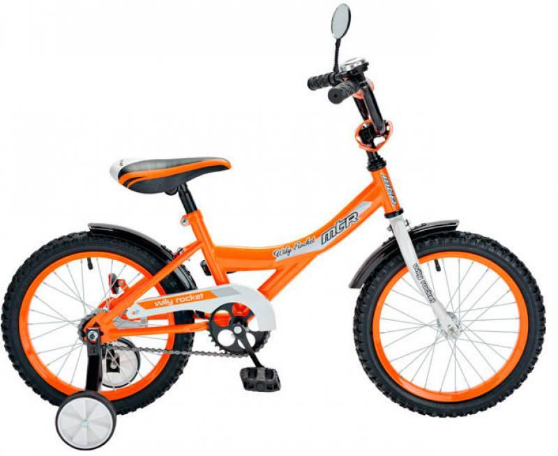 Велосипед двухколёсный R-Toys BA Wily Rocket 12 оранжевый KG1208 велосипед двухколёсный rich toys ba camilla 14 1s розовый kg1417