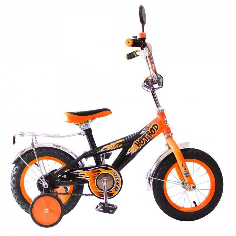 """Велосипед двухколёсный Rich Toys BA Hot-Rod 12"""" 1S оранжевый 5420/KG1206"""