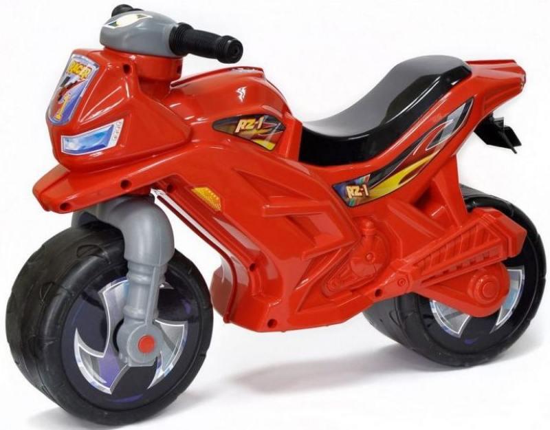 Каталка-беговел двухколёсный RT Мотоцикл Racer RZ 1 красный ОР501 5304