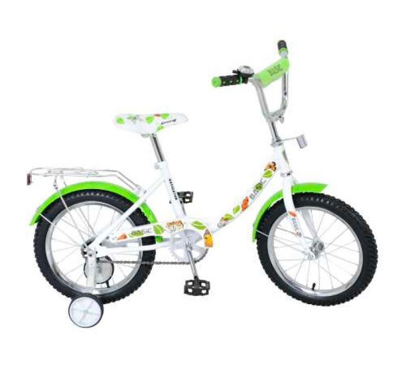 Велосипед двухколёсный Navigator Basic,12B-тип,бел./зелёный ВН16070