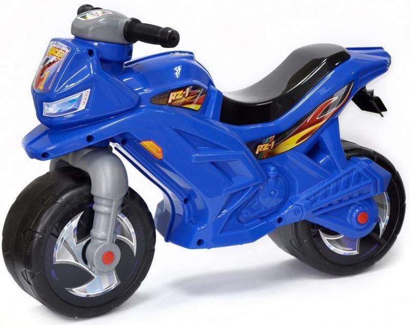 Каталка-беговел двухколёсный RT Racer RZ 1 синий