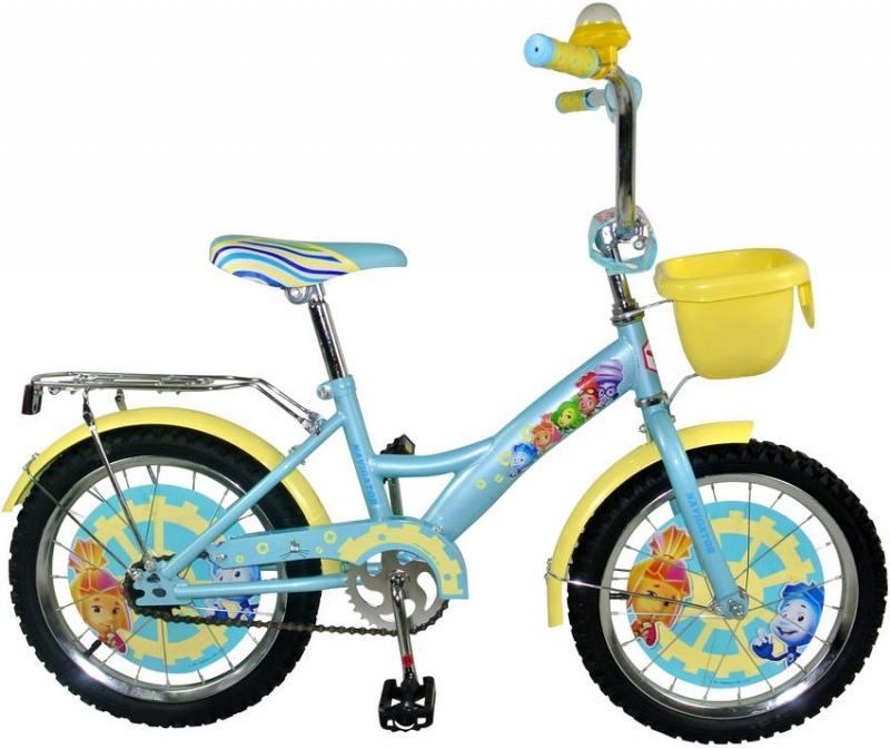 Велосипед двухколёсный Навигатор Фиксики 20 бирюзовый ВН20161К