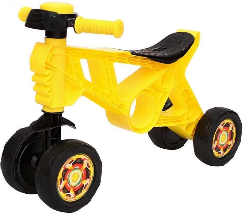 Каталка-беговел четырёхколёсный RT Самоделкин желтый ОР188 вспышка для фотокамеры 2xyongnuo yn600ex rt yn e3 rt speedlite canon rt st e3 rt 600ex rt 2xyn600ex rt yn e3 rt