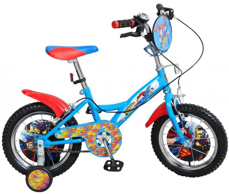 Велосипед двухколёсный Навигатор Супермен 14 KITE-тип,страховочн.кол.со стик.,щиток на руле авто навигатор в москве 10ка лучших
