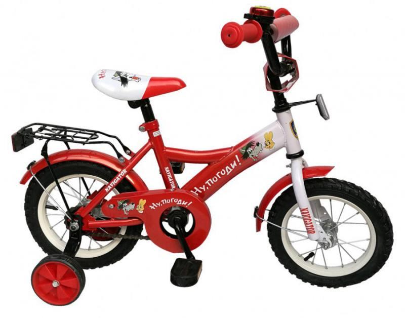 Велосипед двухколёсный Навигатор Ну, погоди! 12 ВН12106 самокат навигатор фиксики 12 двухколёсный