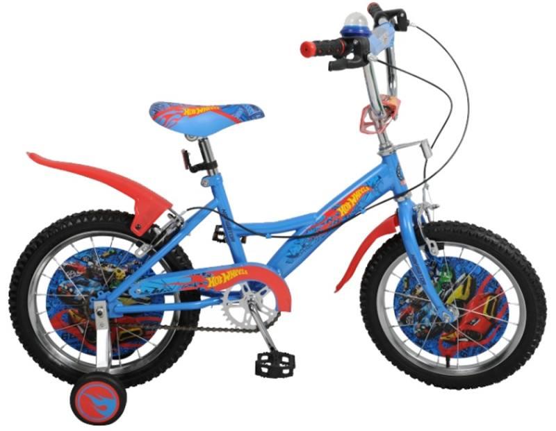 Велосипед двухколёсный Навигатор 16 Hot Wheels,KITE-тип,страх.кол.с декор вставкой ВН16111