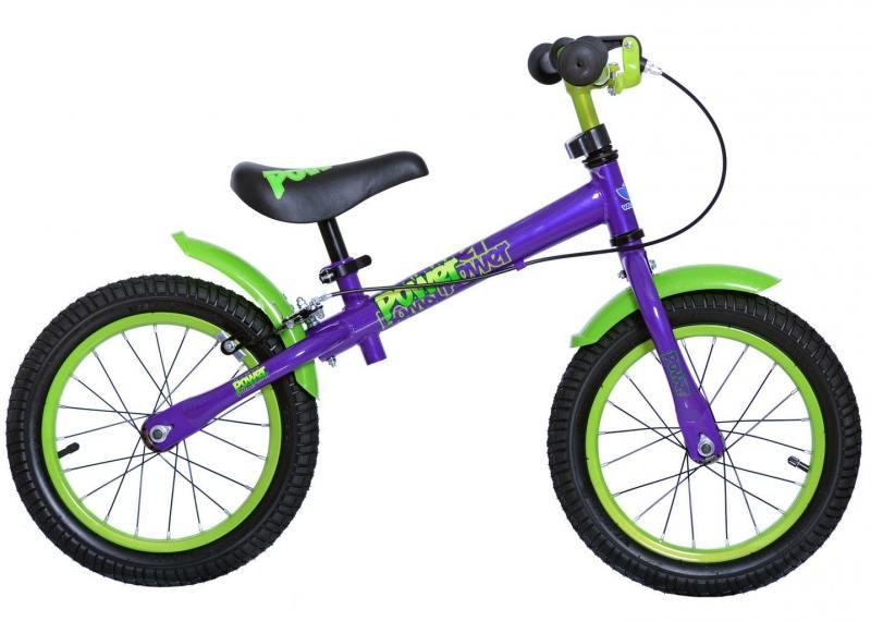 Беговел двухколёсный Velolider Power 14 фиолетовый 166607 велосипед velolider rush army 18 ra18 хаки