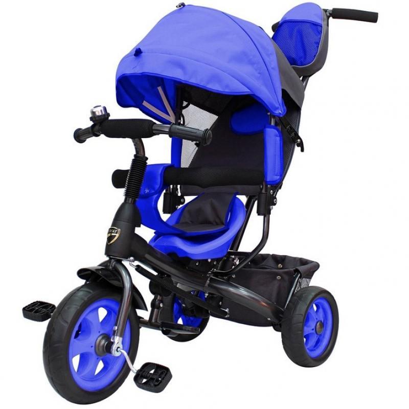 Велосипед трехколёсный RT Galaxy Лучик VIVAT синий