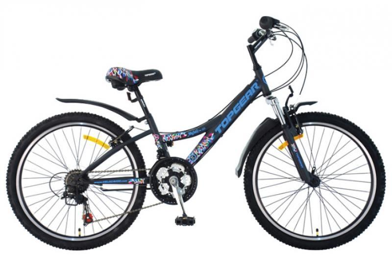 """Велосипед двухколёсный Top Gear 24"""" Mystic, 210 18ск. TZ 31/TZ50/RS35 Shimano,тормоз V-тип,дв.обода,"""