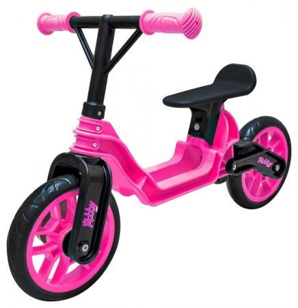 Беговел двухколёсный RT Hobby bike Magestic pink black ОР503