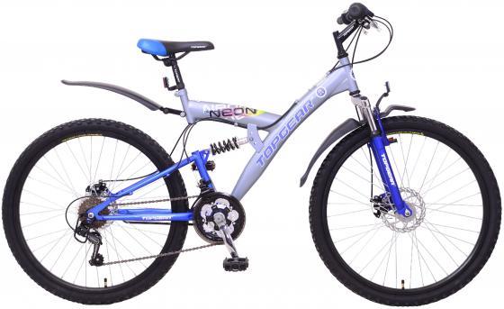 Велосипед Top Gear Neon 225 диаметр колес: 26 дюймов, TZ31/TZ50/RS35 Shimano,тормоз 2D,дв.обода,покр