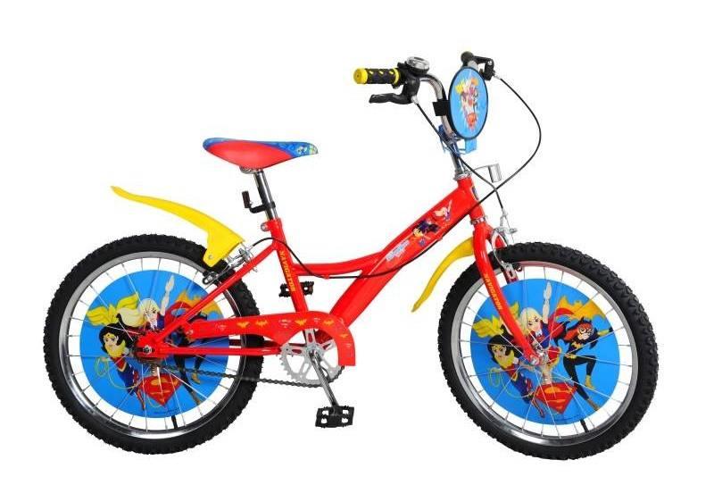 Велосипед двухколёсный Навигатор Super Hero Girls 20 красно-желтый авто навигатор в москве 10ка лучших