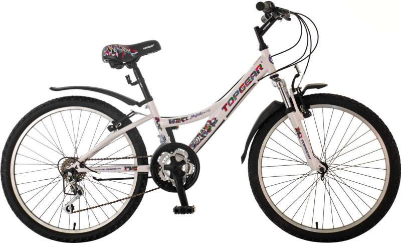 Велосипед двухколёсный Top Gear Mystic 20 белый ВН20167