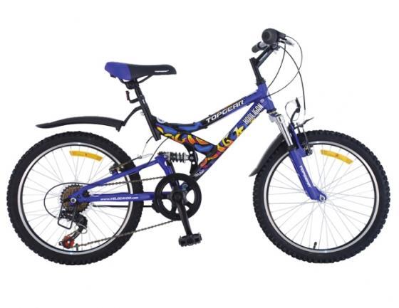 """Велосипед двухколёсный Top Gear Hooligan 220 20"""" синий"""
