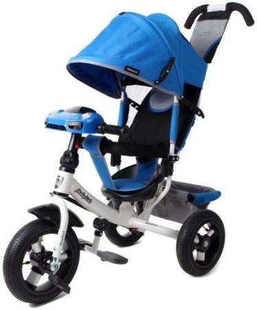 Велосипед трехколёсный Moby Kids Comfort Air Car 2 300/250 мм синий