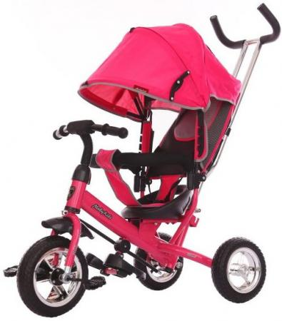 Велосипед трехколёсный Moby Kids Start Eva 250/200 мм розовый 641046 велосипед moby kids start eva 250 200 мм розовый