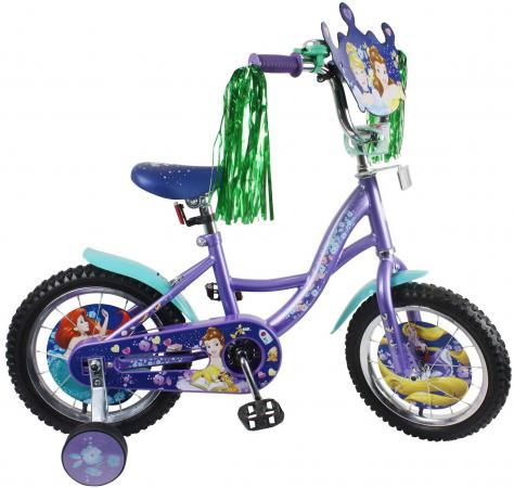 Велосипед двухколёсный Disney Принцессы фиолетовый ВН14165 disney прописи для девочек принцессы