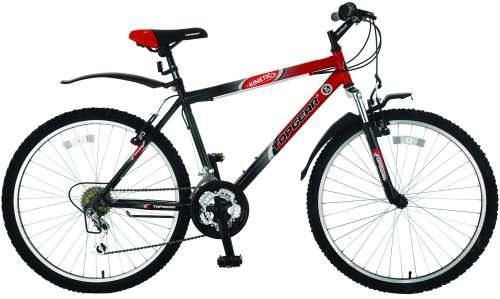 Велосипед двухколёсный Top Gear Kinetic 110 18 черно-красный ВН26248Н автокосметика top gear
