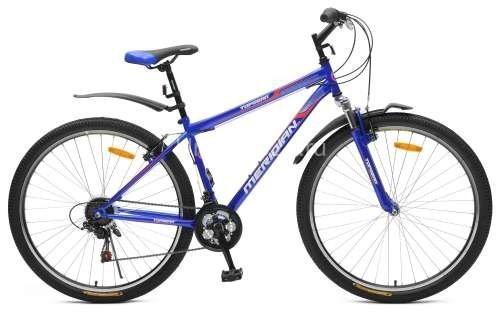 Велосипед Top Gear Meridian 210 диаметр колес: 29 дюймов, размер рамы: 18 дюймов, 18 скоростей, синий, ВН29001