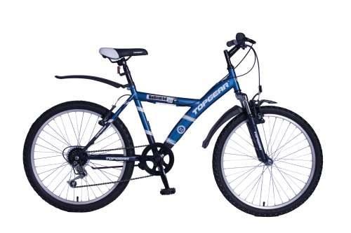 Велосипед двухколёсный Top Gear ВН24056-6s сине-черный ВН24056-6s настенный светильник novotech night light 357335