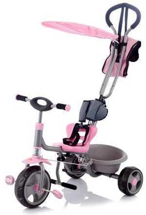 Jetem, Велосипед детский Chopper, (2 шт/уп.) Розовый