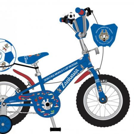 Велосипед двухколёсный Navigator FIFA-2018 синий