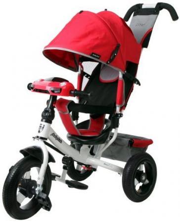 Велосипед трехколёсный Moby Kids Comfort Air Car 2 300/250 мм красный 641087