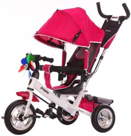 Велосипед трехколёсный Moby Kids Comfort EVA 250/200 мм красный 641049