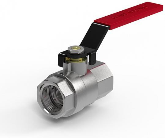 Кран шаровый Royal Thermo OPTIMAL 1 ВВ, стальной рычаг комплект royal thermo коаксиальный утепленный d60 100l v