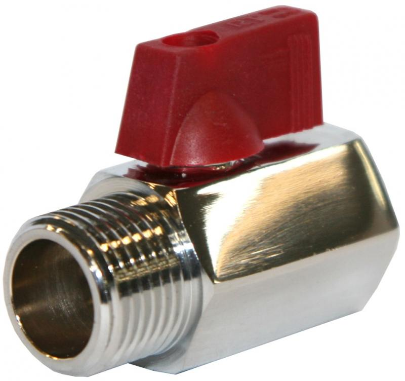 Кран шаровый Royal Thermo MINI 1/2 НВ клапан royal thermo optimal обратный 2 rto 07037