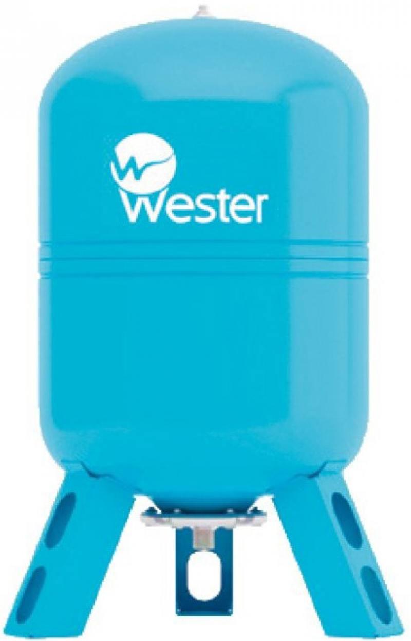 Гидроаккумулятор Wester  WAV  80 (Объем, л: 80) гидроаккумулятор wester wao 100 объем л 100