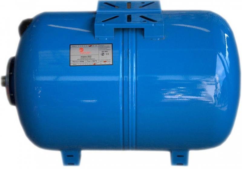 Гидроаккумулятор Wester WAO  80 (Объем, л: 80) гидроаккумулятор wester wao 100 объем л 100
