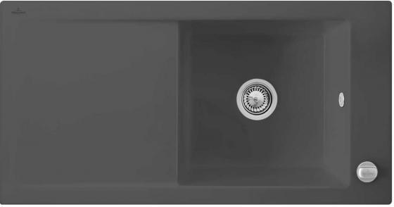 Мойка Villeroy & Boch Timeline 60 1000 x 510 mm i4 Graphite Ceramicplus 679002i4