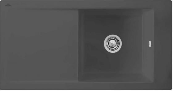 Мойка Villeroy & Boch Timeline 60 1000 x 510 mm i4 Graphite Ceramicplus 679001i4 5312 open bearing 60 x 130 x 54 mm 1 pc axial double row angular contact 5312 3312 3056312 ball bearings